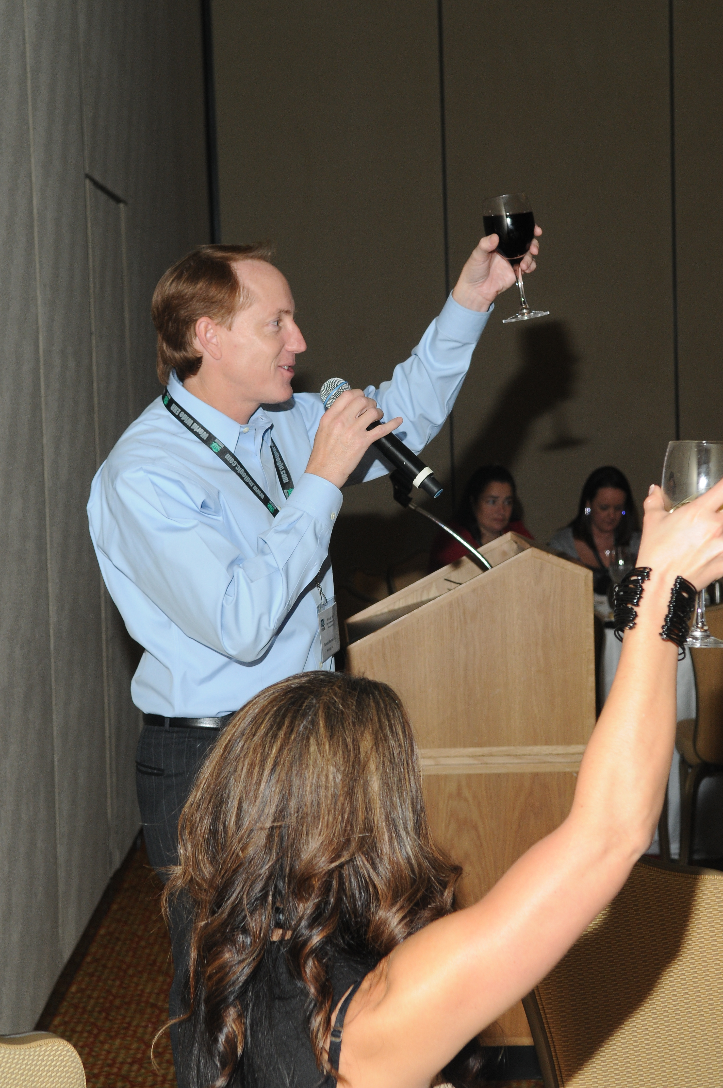 MD Logic CEO Toasts to Welcome Customers   MD Logic